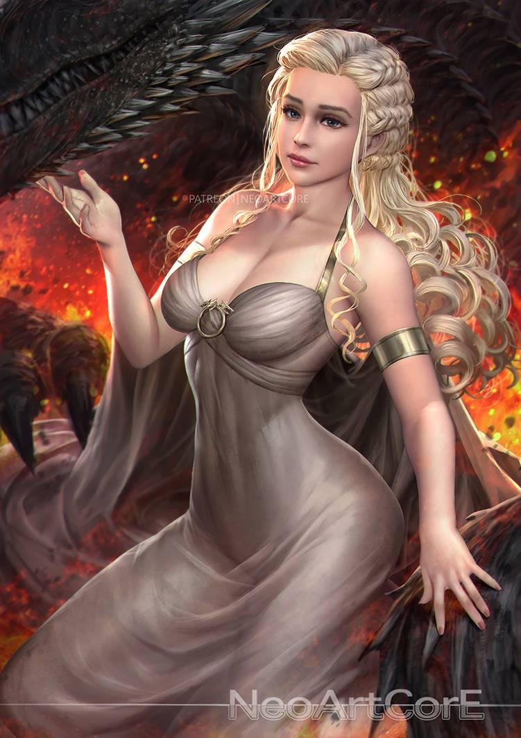 Фото Daenerys Targaryen / Дейнерис Таргариен из сериала Game Of Trones / Игра Престолов, by NeoArtCorE