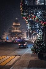 Фото Улица новогоднего Санкт-Петербурга. Фотограф Андрей Михайлов
