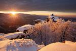 Фото Зимний восход солнца над природой, by Martin Rak