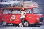 Фото Девушка стоит у авто-кафе-машины, фотограф Наталья Виноградова