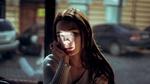 Фото Девушка с падающим на лицо светом, by Elijah ODonnell
