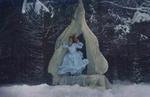 Фото Девушка в голубом платье под шатром. Фотограф Катерина Плотникова