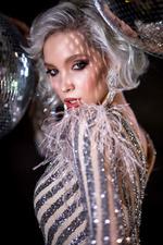Фото Модель Екатерина Майбах в серебристом платье, by Татьяна Антошина