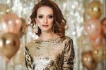 Фото Модель Яна Смирнова в праздничном платье среди воздушных шаров, by Татьяна Антошина
