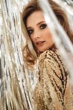 Фото Модель Яна Смирнова в праздничном платье, by Татьяна Антошина