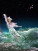 Фото Девушка в образе Афродиты над водой. Фотограф Igor Zenin