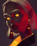 Фото Девушка - эльф с желтыми глазами, by AngelGanev