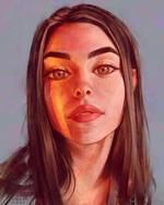 Фото Девушка с длинными волосами, by AngelGanev