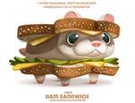 Фото Сэндвич с хомяков (Ham Sandwich), by Cryptid-Creations