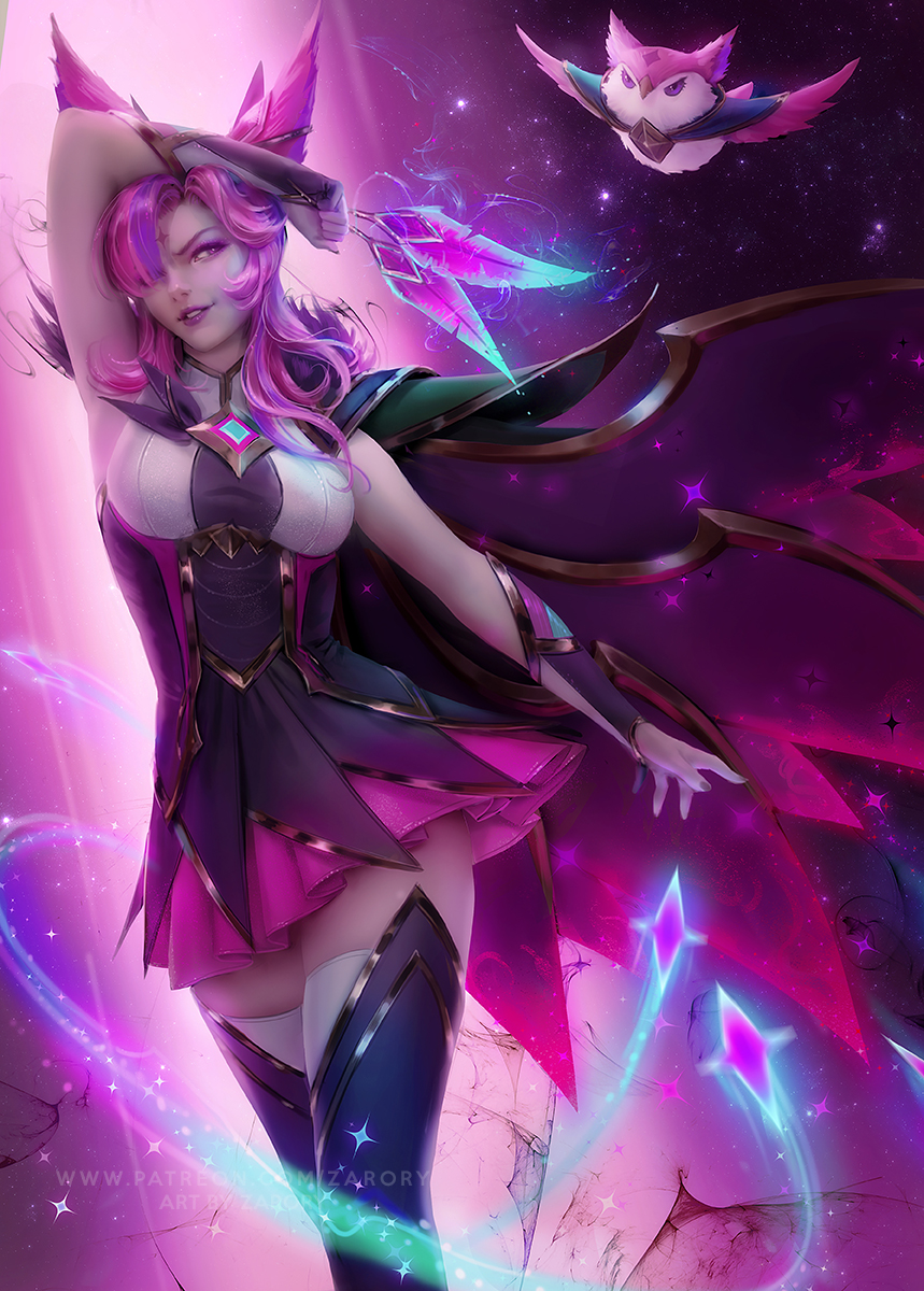 Фото Star Guardian Lux / Звезда Guardian Lux из игры League of Legend / Лига Легенд, by Zarory