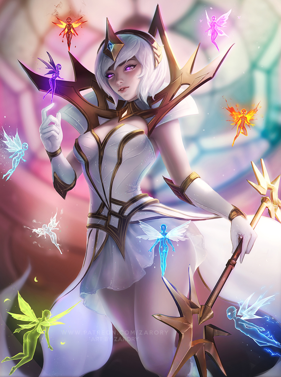 Фото Elementalist Lux / Элементалист Люкс из игры League of Legends / Лига Легенд, by Zarory