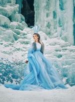 Фото Девушка среди льда, фотограф Татьяна Мышкина