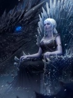 Фото Daenerys Targaryen / Дейнерис Таргариен из сериала Game Of Trones / Игра Престолов, by Zarory