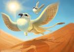 Фото Мистические птицы в пустыне (Desert Griffon), by Cryptid-Creations