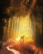 Фото Олененок в осеннем лесу, by Martina Stipan