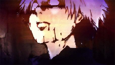 Анимация Глаз Ken Kaneki / Кена Канеки из аниме Tokyo Ghoul / Токийский Гуль (© Maya Natsume), добавлено: 26.03.2015 18:01
