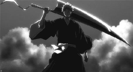 Анимация Kurosaki Ichigo / Куросаки Ичиго из аниме Блич / Bleach (© Maya Natsume), добавлено: 26.03.2015 18:15