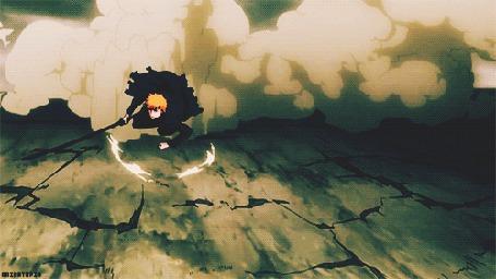 Анимация Kurosaki Ichigo / Куросаки Ичиго из аниме Блич / Bleach (© Maya Natsume), добавлено: 26.03.2015 18:21