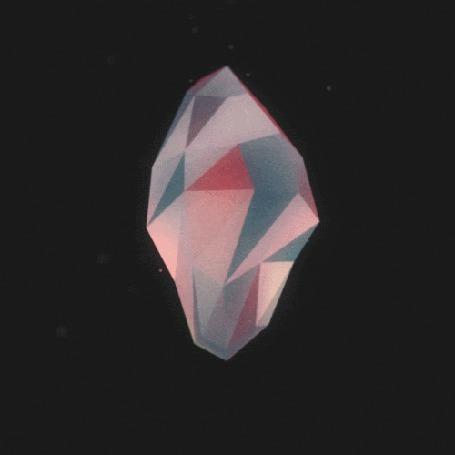 Анимация Драгоценный кристалл с огранкой вращается в черном космосе с двигающимися звездами (© Akela), добавлено: 03.03.2015 02:14