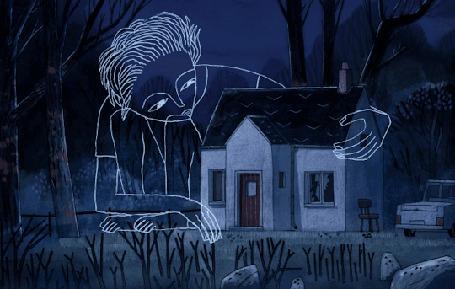 Анимация Человек обнимает дом (© Krista Zarubin), добавлено: 11.03.2015 13:38