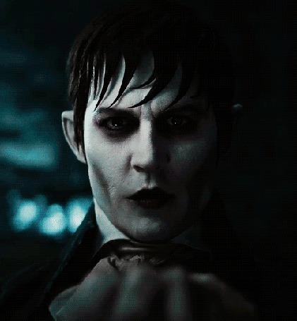 Анимация Джонни Депп / Johnny Depp в фильме Мрачные тени / Dark Shadows, 2012