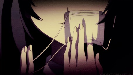 Анимация Мисаки Мей / Misaki Mai из аниме Иная / Another (© Maya Natsume), добавлено: 25.03.2015 22:53