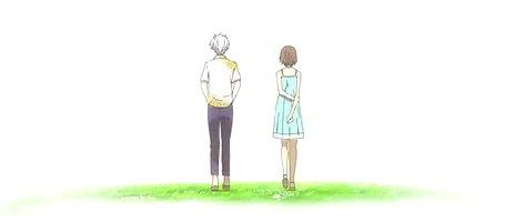 Анимация Гин / Gin и Hotaru Takegawa / Хотару Такэгава из аниме Туда, где мерцают светлячки / Hotarubi no Mori e