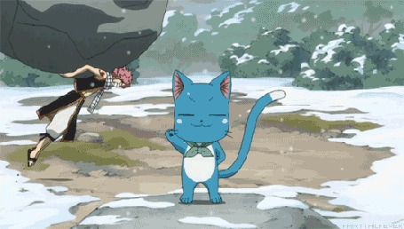 Анимация Natsu Dragneel / Нацу Драгнил и Happy / Хэппи из аниме Fairy Tail / Сказка о Хвосте Феи (© Maya Natsume), добавлено: 25.03.2015 23:09