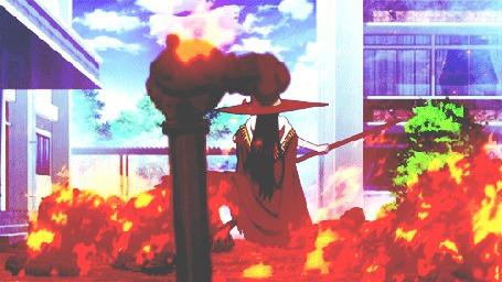 Анимация Ayaka Kagari / Аяка Кагари из аниме Witch Craft Works / Ведьма за работой (© Maya Natsume), добавлено: 25.03.2015 23:12