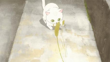 Анимация Котенок играет с веточкой (© zmeiy), добавлено: 05.04.2015 17:43