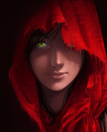 Анимация Девушка в красном капюшоне (© Arinka jini), добавлено: 15.04.2015 01:46
