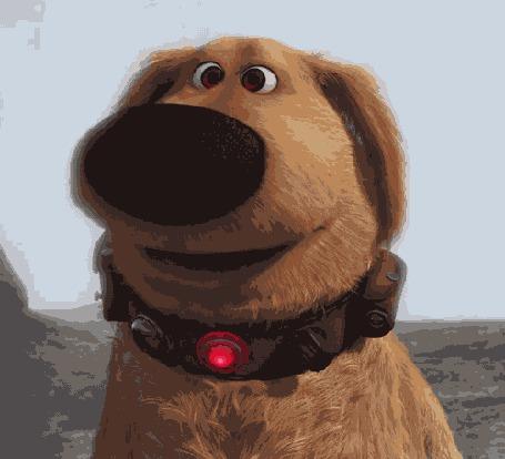 Анимация Симпатичный пес из диснеевского мультфильма