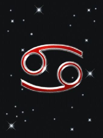Анимация Движующийся знак зодиака рак (© novallochka), добавлено: 18.04.2015 15:18