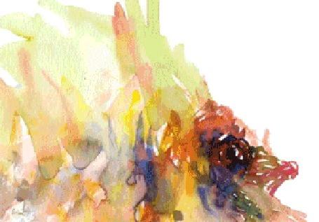 Анимация Абстрактная рыба, буйство красок (© Anatol), добавлено: 19.04.2015 01:14