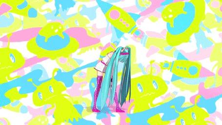 Анимация Vocaloid Hatsune Miku / Вокалоид Хатсуне Мику (© Kuppuru), добавлено: 23.04.2015 16:59