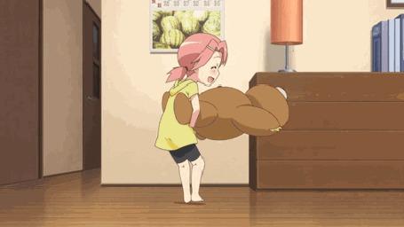 Анимация Девочка крутит игрушку из аниме Mayo Chiki! / Секрет дворецкого! (© Kuppuru), добавлено: 25.04.2015 23:06