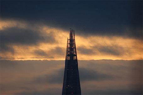 Анимация Вид на 87-этажный небоскреб в Southwark, Лондон / London Bridge Tower, (© Anatol), добавлено: 26.04.2015 23:40