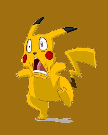 Анимация Пикачу / Pikachu из аниме Покемон / Pokemon (© Мася-тян), добавлено: 28.04.2015 21:03