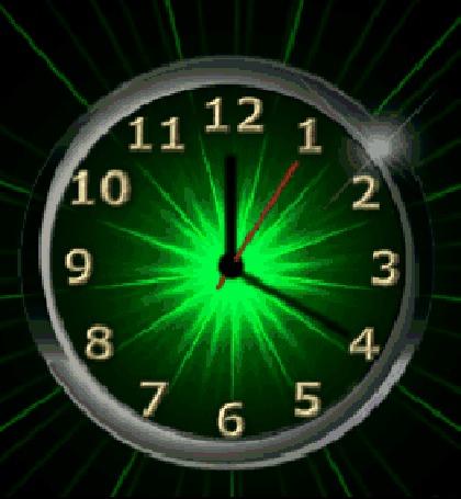 Анимация Циферблат часов с меняющимся цветом и разбегающимися в стороны лучами (© Akela), добавлено: 30.04.2015 14:53