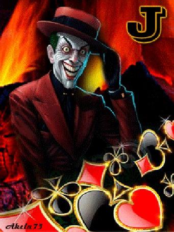 Анимация Jolly Joker / Джолли Джокер на фоне огня, Akela 73 (© Akela), добавлено: 03.05.2015 11:53