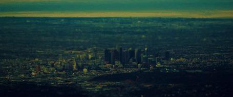 Анимация Вечерний город в движении (© Seona), добавлено: 06.05.2015 14:05