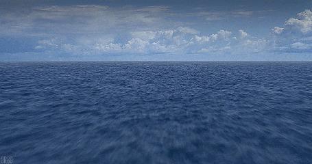 Анимация Быстро движущиеся морские волны (© Seona), добавлено: 08.05.2015 17:11