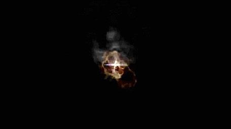 Анимация Огненное зарево и появление планет (© zmeiy), добавлено: 16.05.2015 20:34