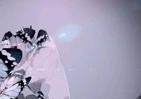 Анимация Разлетающееся множество бабочек (© zmeiy), добавлено: 18.05.2015 13:59