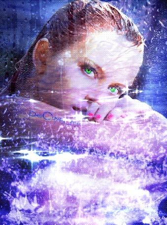 Анимация Девушка под водой в брызгах воды (© Bezchyfstv), добавлено: 19.05.2015 00:19