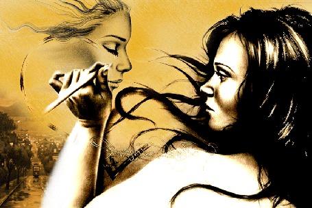 Анимация Девушка рисует картину (© qalina), добавлено: 23.05.2015 20:46