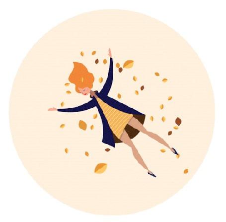 Анимация Девушка лежит на осенних листьях (© Seona), добавлено: 29.05.2015 13:56