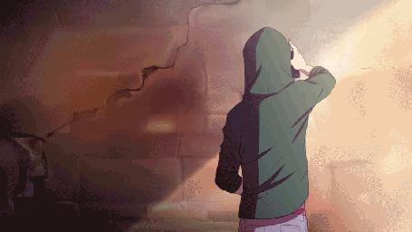Анимация Парень рисует на стене (© zmeiy), добавлено: 29.05.2015 23:03