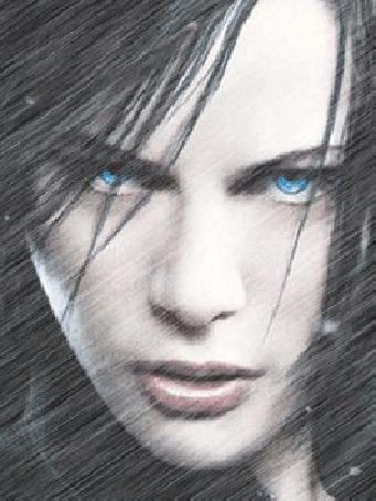Анимация Голубоглазая девушка под косыми струями дождя (© Akela), добавлено: 01.06.2015 12:25