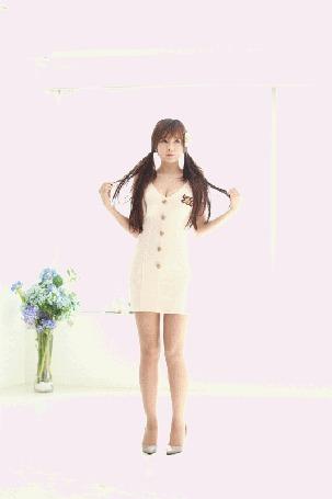 Анимация Танцующая корейка на высоких каблуках (© Kuppuru), добавлено: 02.06.2015 14:35